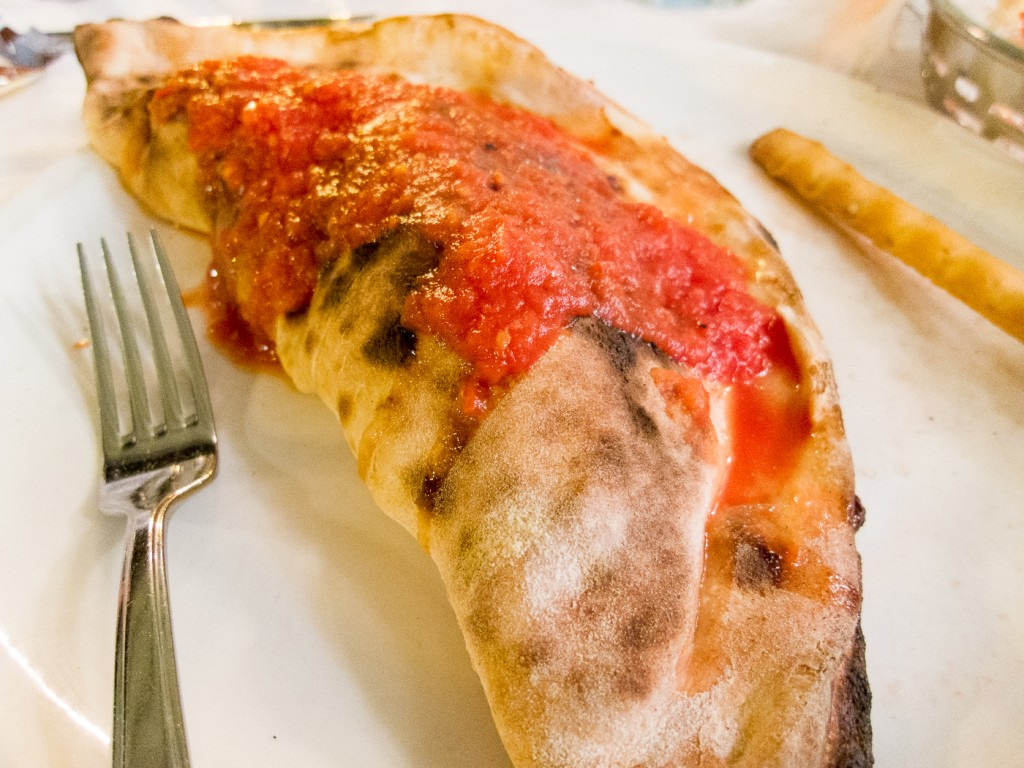 Delicious Calzone