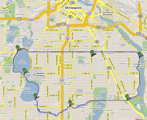 Bicycle Route for Tomorrow