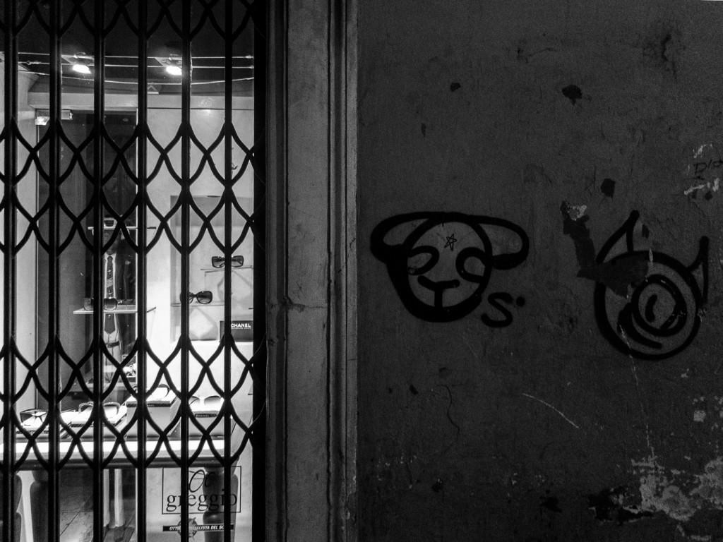 Graffiti in Padua, Italy