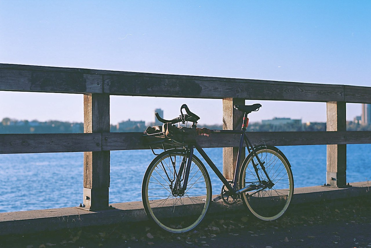 My Bicycle by Lake Calhoun