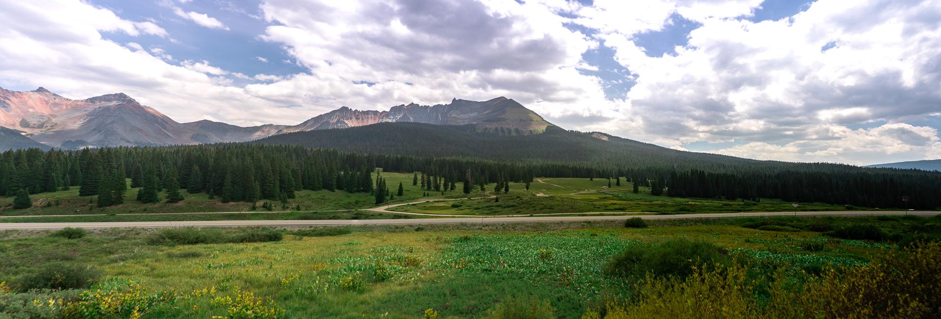 Panorama of Southern Colorado
